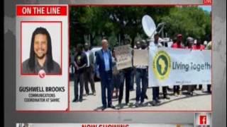SAHRC on violence in Pretoria and Resettenville