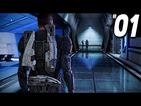 Mass Effect Legendary Edition - Part 1 - THIS GAME IS AMAZING