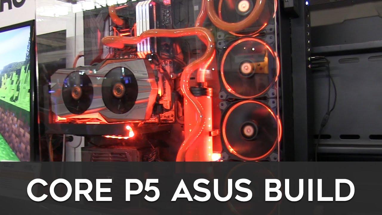 Thermaltake Core P5 ASUS Gaming PC Build! - YouTube