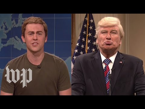 """SNL"" goes after Trump, Zuckerberg"