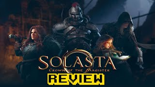 Solasta: Crown of the Magister Review (Video Game Video Review)
