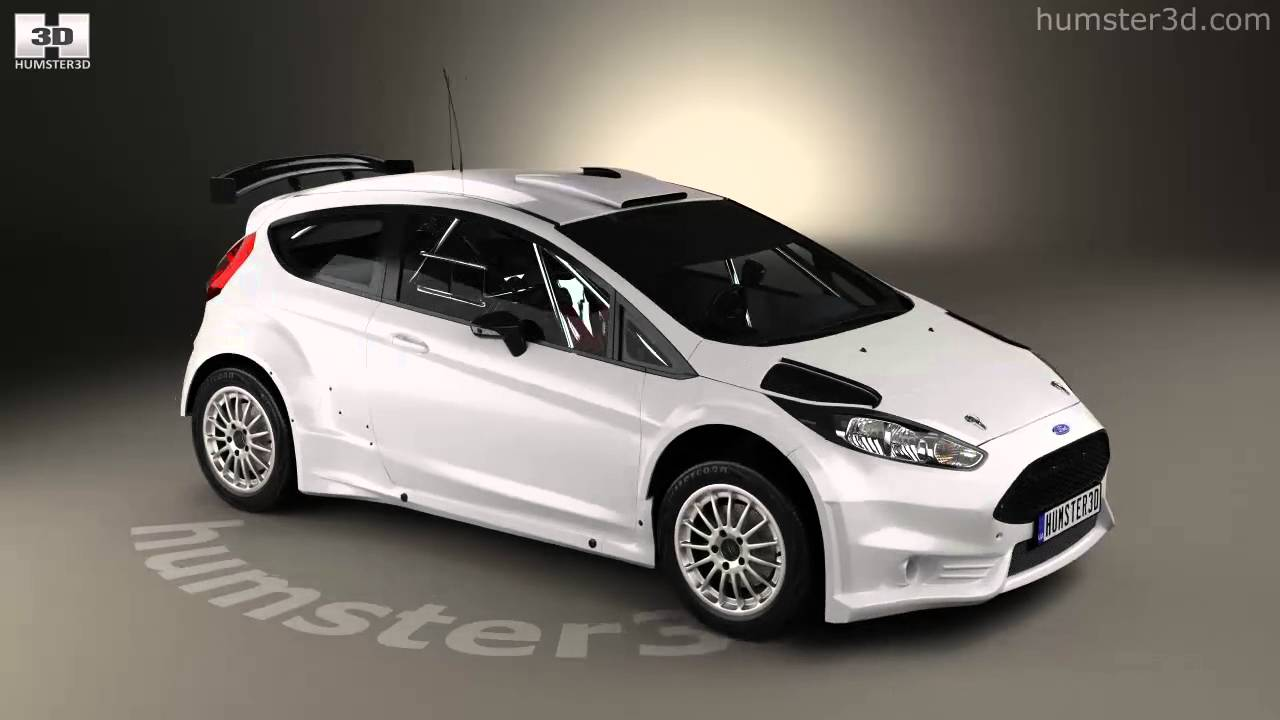 Ford Fiesta Hatchback 2014 >> Ford Fiesta R5 3-door 2014 3D model by Humster3D.com - YouTube