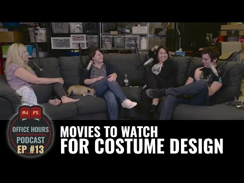 Movies to Watch for Costume Design - RJFS Office Hours Ep. 13