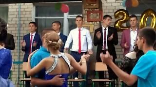 """Выпускной 2016-2017 """"Танец для девчонок"""" в Хлебодаровском НВК."""