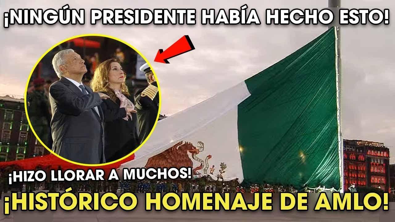 AMLO Hizo LL0RAR a Muchos con el Homenaje por el SISM0 ¡Conmueve a todo México!