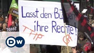 تزايد الانتقادات لاتفاقية التجارة الحرة عبر الأطلسي | الأخبار