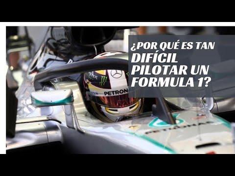 Conducir un Formula 1 es muy difícil