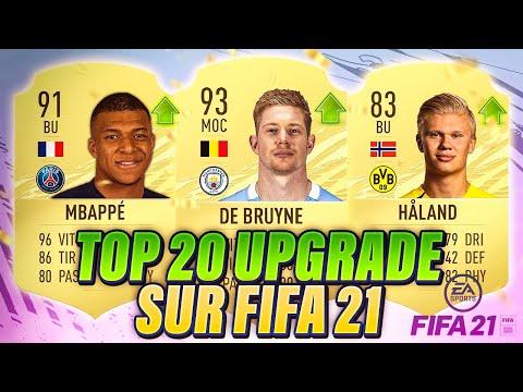 LES 20 PLUS GROS UPGRADE SUR FIFA 21