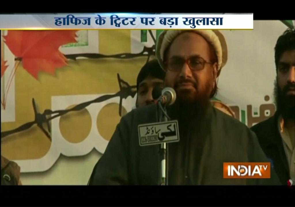 Pakistan's ISI Handling the Twitter Account of Hafiz Saeed: IB Sources