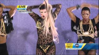 Lady GaGa - Judas - Live at Good Morning America