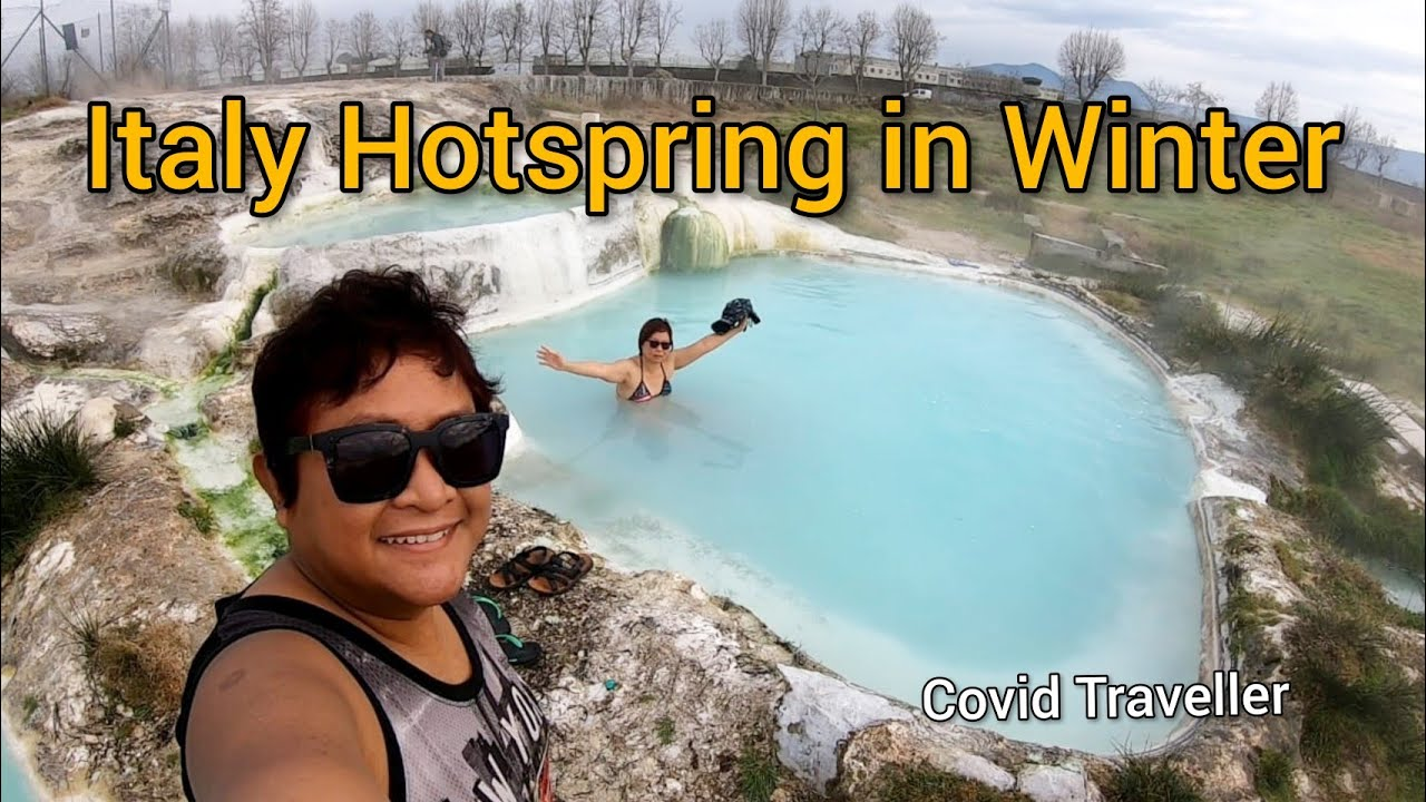 Italy Hotspring in Winter