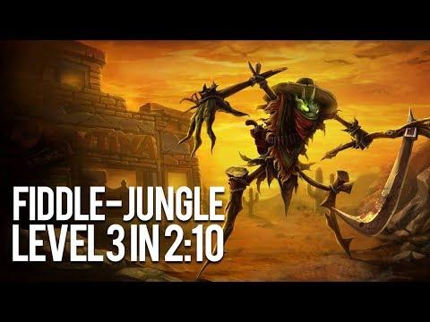 Fiddle Jungle Level 3 in 2:10   durchgequatscht 83   Fiddlesticks Jungle Guide