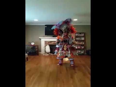 My new mummer costume and dance