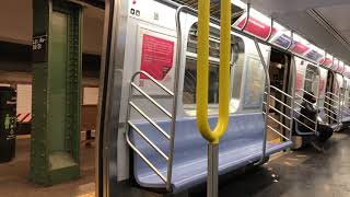 Riding the NYC Subway during COVID-19 (April 2020)