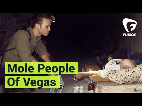 The Mole People Living Underneath the Las Vegas Strip