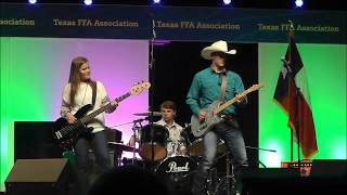 David Lewis Band wins the Texas FFA 2018 State Convention Talent Show