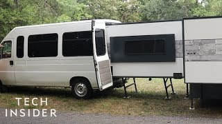 Fit This Entire Camper In The Back Of A Van