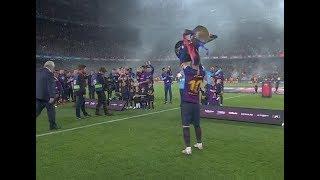 (SOLO AUDIO) Directo del Barcelona ganando LaLiga frente al Levante