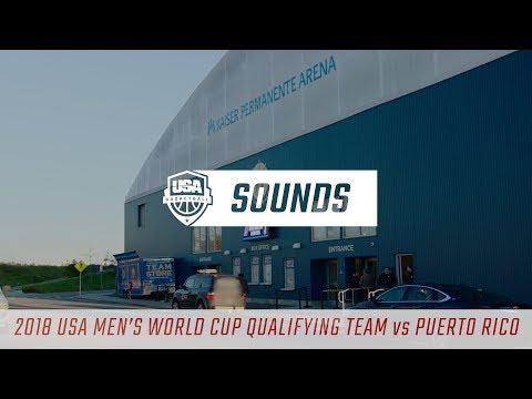 Sights & Sounds: USA vs Puerto Rico// Feb. 26, 2018