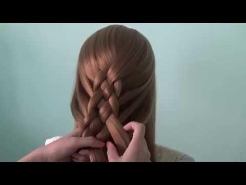 AnaTran - Hướng dẫn tết tóc 5 sợi bằng tiếng Việt
