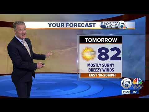 Latest Weather Forecast 11 p.m. Wednesday