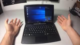 Unboxing & Review   iRulu   WalknBook W3 10 1 HD QuadCore Windows 10 Tablet PC mit Tastatur