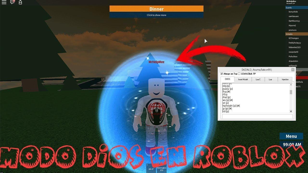 Descargar Exploit Dansploit Para Roblox Link Directo Mega Link Actualizado - Hack Ser Modo Dios Para Prisonlife Jailbreak Etc Roblox