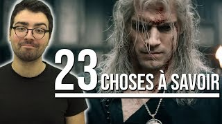 23 CHOSES À SAVOIR AVANT DE REGARDER THE WITCHER ! (le nouveau Game of Thrones ?)
