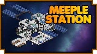 Meeple Station - (Space Station Simulator & Builder) [Steam EA Release ]