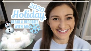 2020 HOLIDAY CLEAN AND DECORATE WITH ME  // Chrismukkah + How To Decorate For Winter