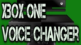 How To Create A Voice Changer For Xbox One