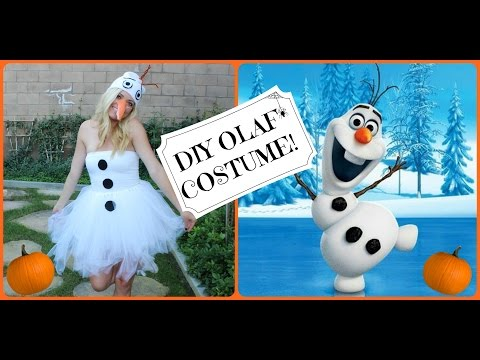 Diy Olaf Costumes Low Cost Looks For Frozen S Silly Snowman Ideas Wonderhowto