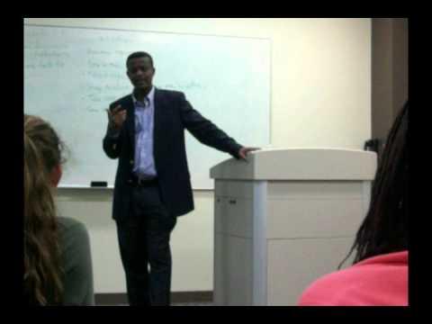 Impact of Liberian War on Families- Mr. John Ampiah-Addison