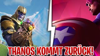 😍 OMG! THANOS IS COMING BACK... Fortnite X Avengers this will happen!