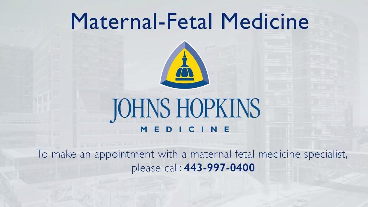 Maternal-Fetal Medicine (High-Risk Pregnancies) | Johns Hopkins