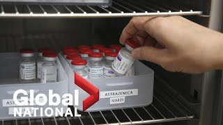 Global National: March 16, 2021 | Major change to who can get AstraZeneca COVID-19 vaccine
