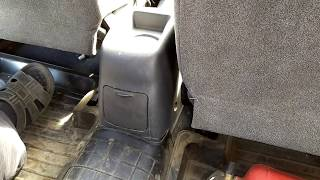 Как натянуть ручной тормоз в Ланосе