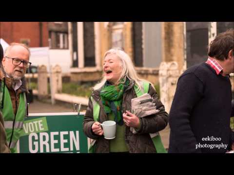 Vote Green in 2015  Martin Dobson on the campaign trail in Liverpool