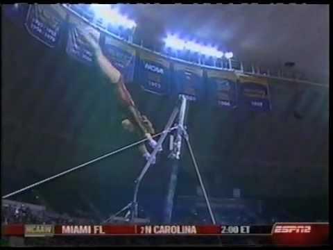 Courtney Kupets - 2007 UGA vs LSU - Uneven Bars