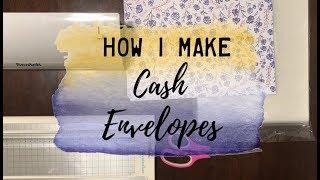 How I Make Cash Envelopes (using a laminator) | BudgetWithBri