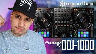 Pioneer DJ DDJ-1000 (Review) | Switching to Rekordbox DJ