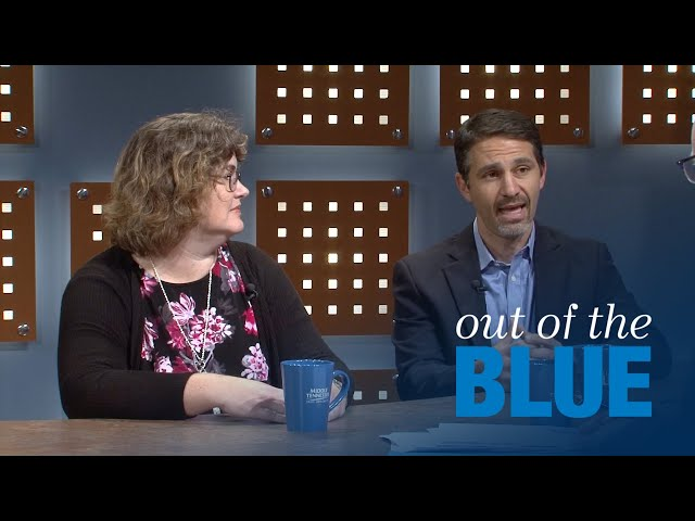 Out of the Blue: Charlie Apigian, Lisa Green Discuss 'Data Science Initiative'
