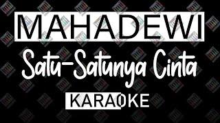 Mahadewi - Satu Satunya Cinta (MIDI KARAOKE 16 bit) by Midimidi
