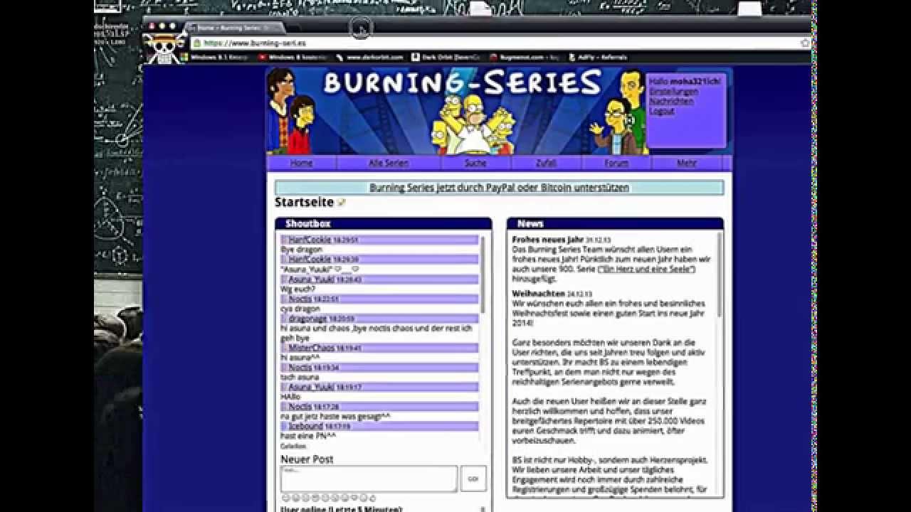 Seite Für Serien