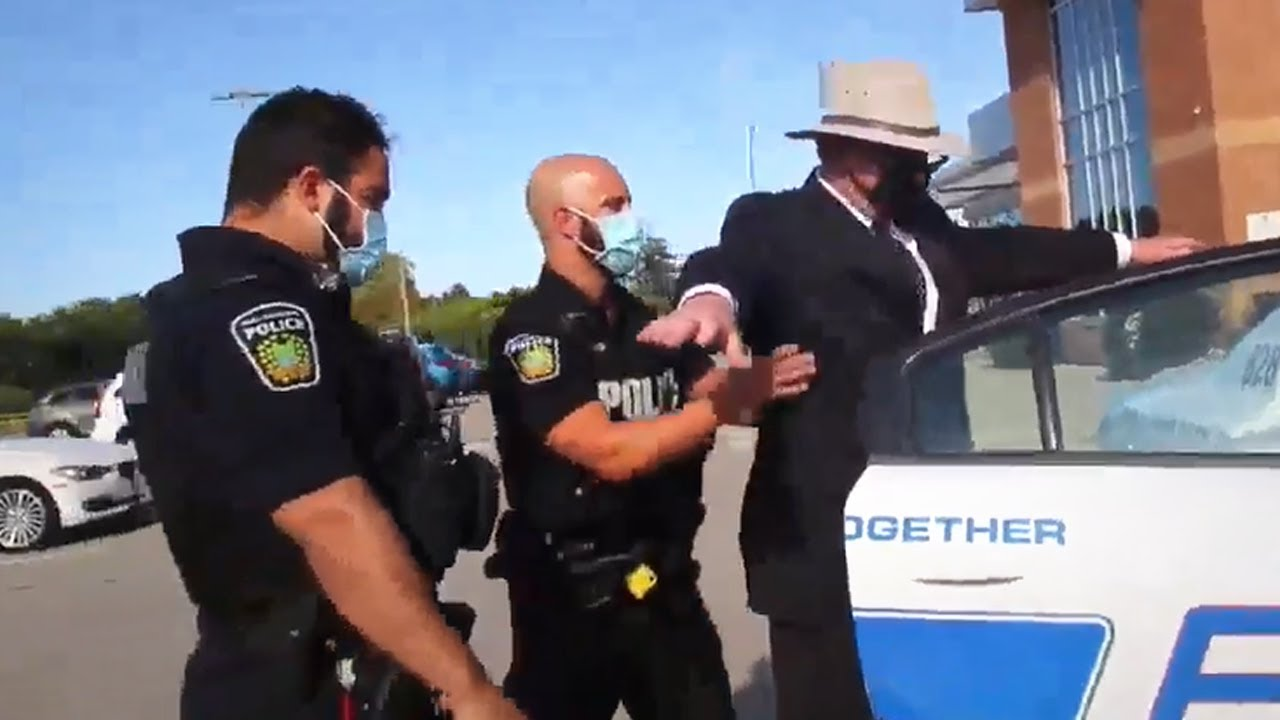 BREAKING: David Menzies Is Being Arrested