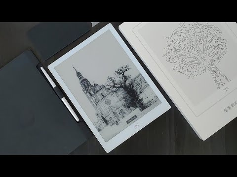 """Xiaomi Moaan W7 10.3"""" Android WACOM Note Taking Tablet Unboxing"""