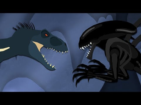 DinoMania | Indoraptor Vs Xenomorph | Dinosaurs Battles - BEST Episodes