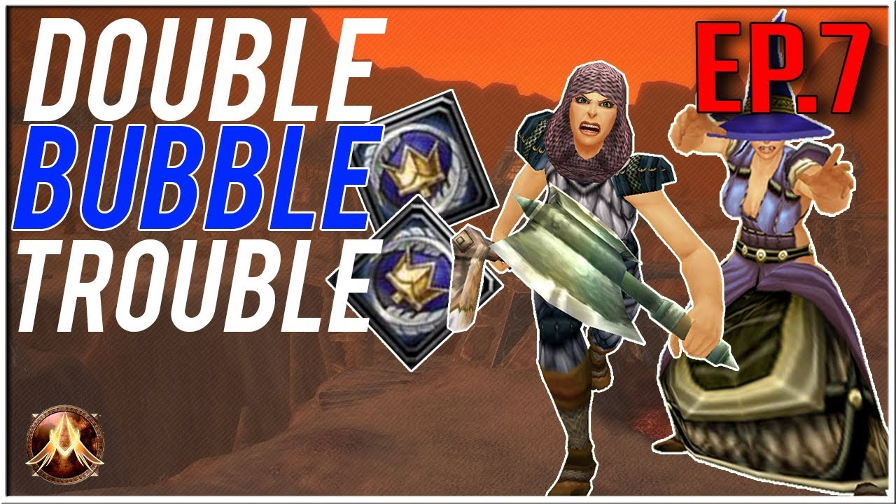 DOUBLE BUBBLE TROUBLE! Project Ascension (WoW with Random