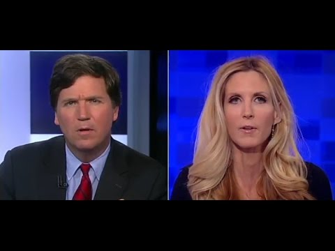 Tucker Carlson - Ann Coulter DEBUNKS Immigration Myths and Social Security