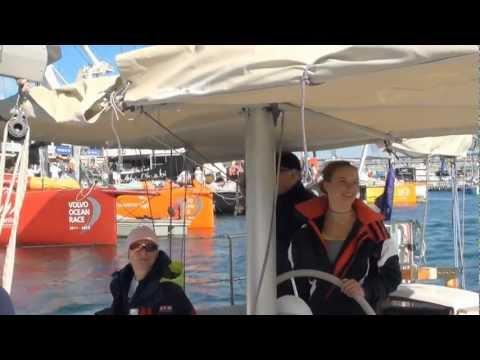 Volvo Ocean Race with Laura Dekker (Cape Town)